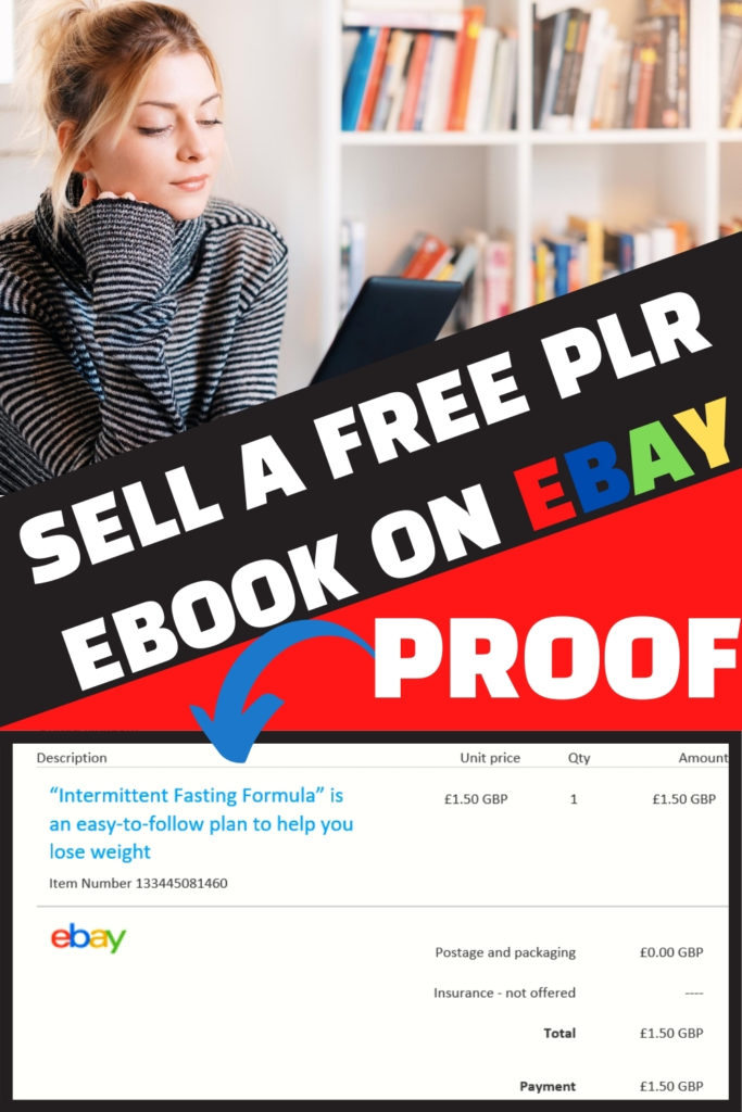 how to sell free plr ebook on ebay pinterest pin